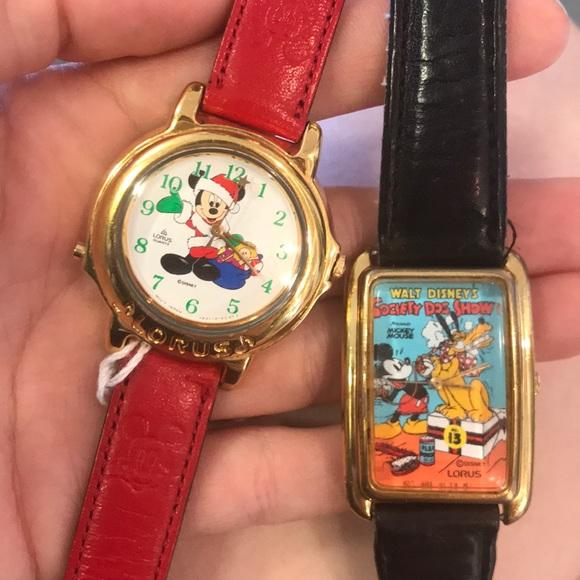 Disney Accessories - Singing Disney Christmas OR Dog Show Watch